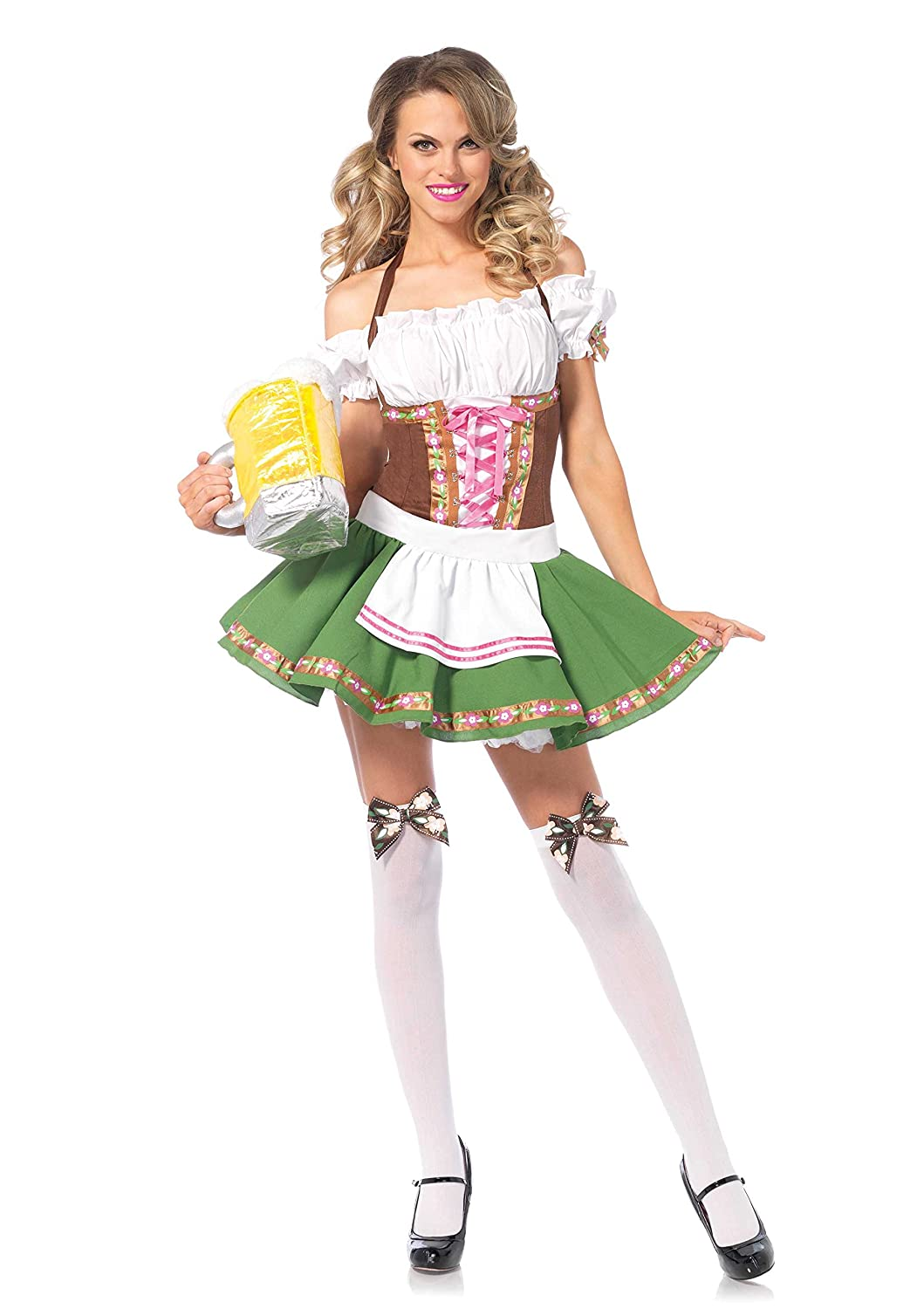 Women's Bavarian Maiden Beer Girl Plus Costume Leg Avenue