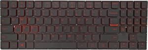 KBR Replacement Backlight Keyboard Compatible with Legion Y520 Y520-15IKBN Y720 Y720-15IKB Laptop US Layout