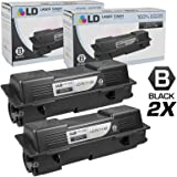 LD © Compatible Replacements for Kyocera-Mita TK-1142 Set of 2 Black Laser Toner Cartridges for use in Kyocera-Mita FS-1035 MFP, FS-1135 MFP, and Laser M2035dn Printers
