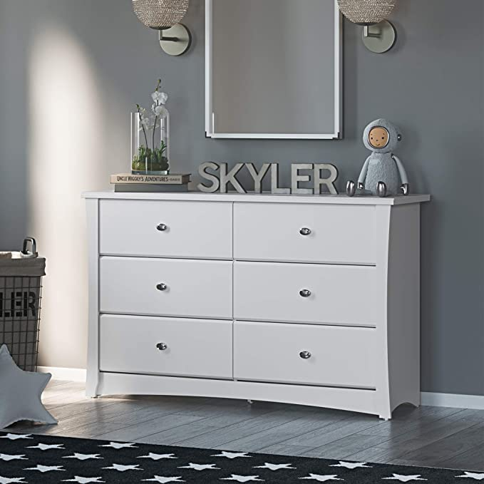 Storkcraft Crescent 6-Drawer Dresser