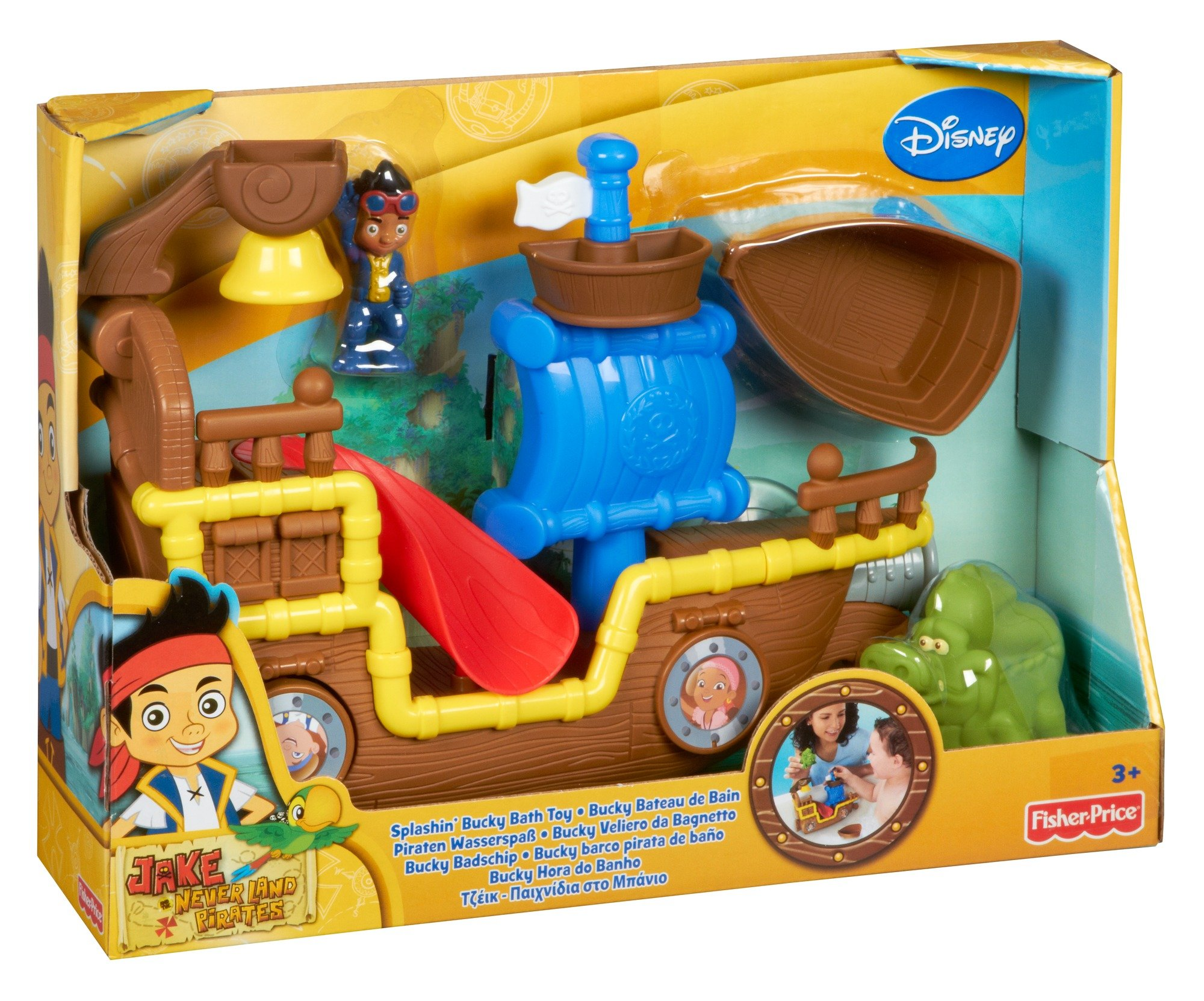 Fisher-Price Jake and the Never Land Pirates Splashin' Bucky Bath by Fisher-Price (Image #5)