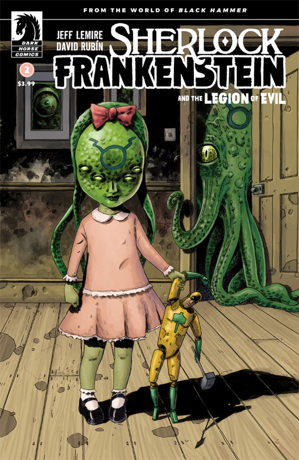Read Online Sherlock Frankenstein and the Legion of Evil (Issue #2 -Cover B by Dean Ormston) PDF