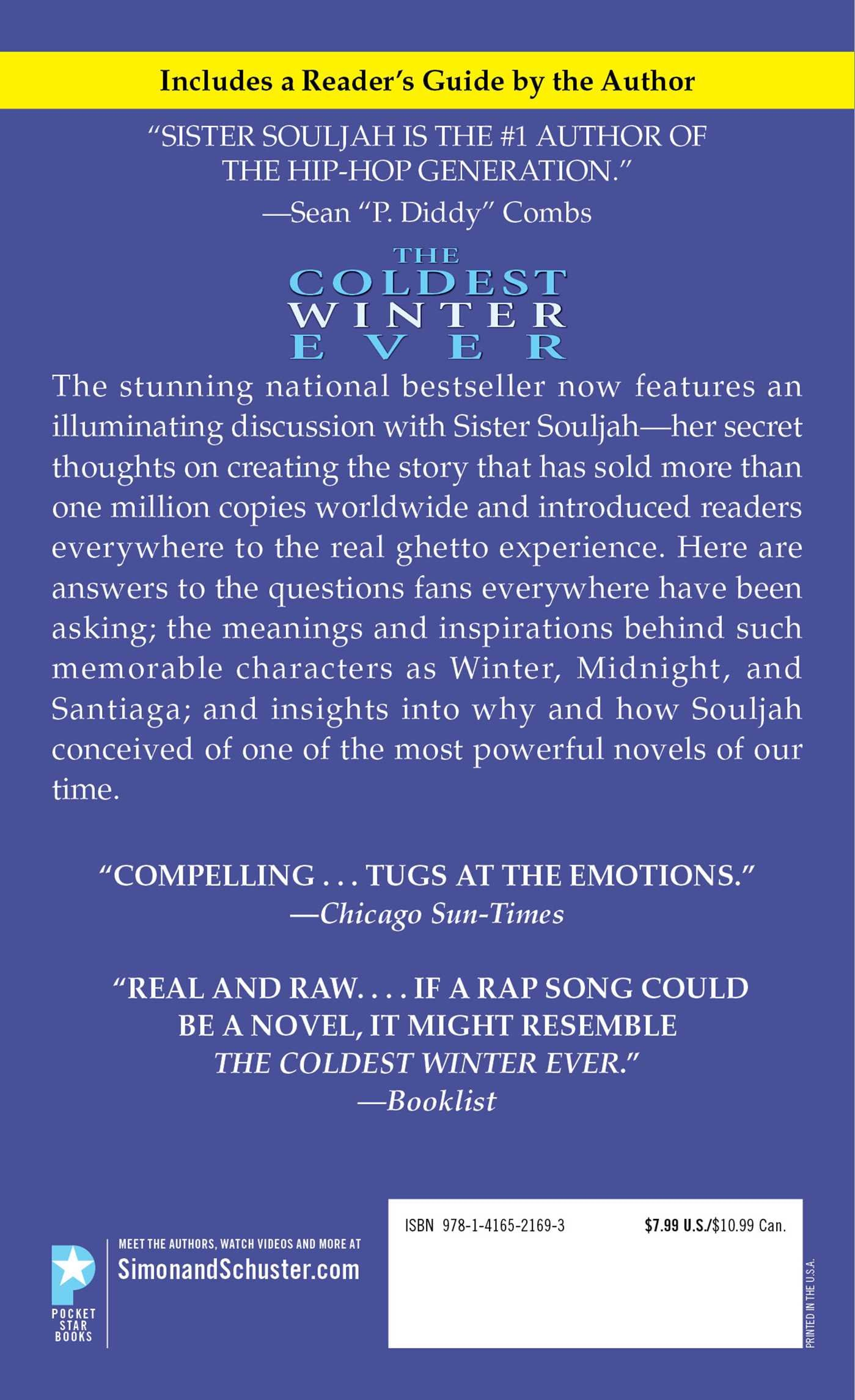 The coldest winter ever sister souljah 9781416521693 amazon the coldest winter ever sister souljah 9781416521693 amazon books fandeluxe Image collections