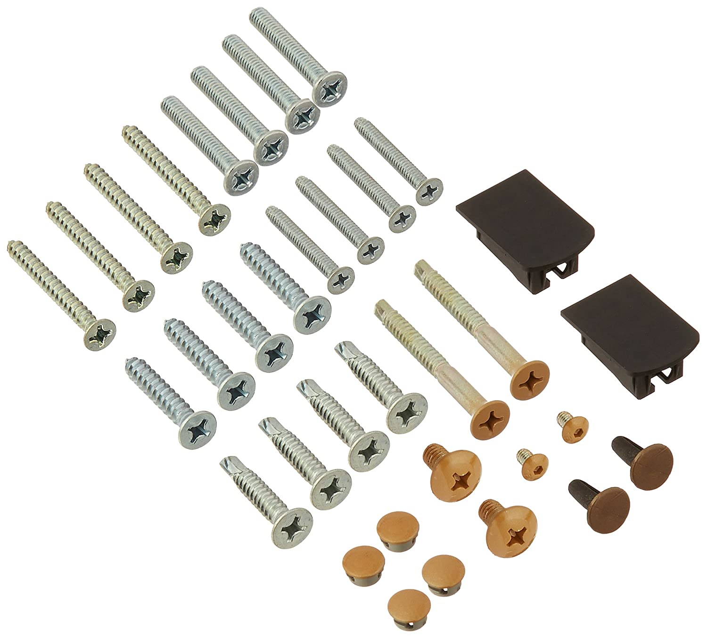 LCN 4030TWMSLTB 4030T-WMS 691 Light Bronze Screw Pack