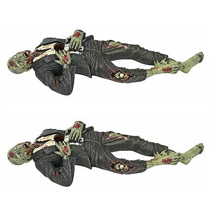Amazon Com Death Desk Accessories Impaled Zombie Figure Set Of