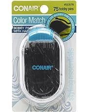 Conair Color Match Bobby Pins, Black