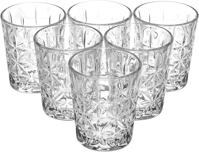 Queensway Schnapsgl/äser 6x Marina Shot Glasses