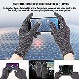 TRENDOUX Winter Gloves, Touchscreen Gloves, Knit