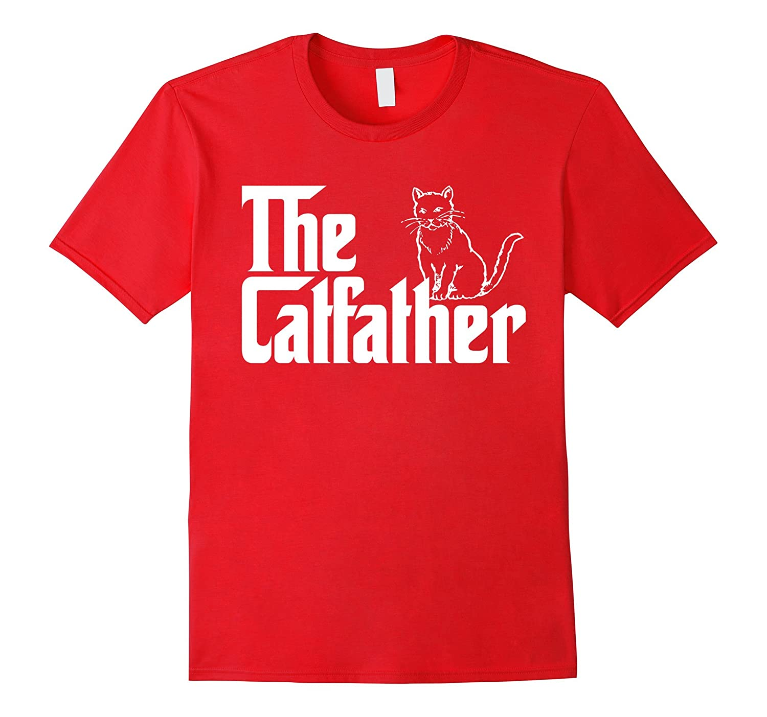 The Catfather T-Shirt  Funny Cat Lover T-Shirts-TH