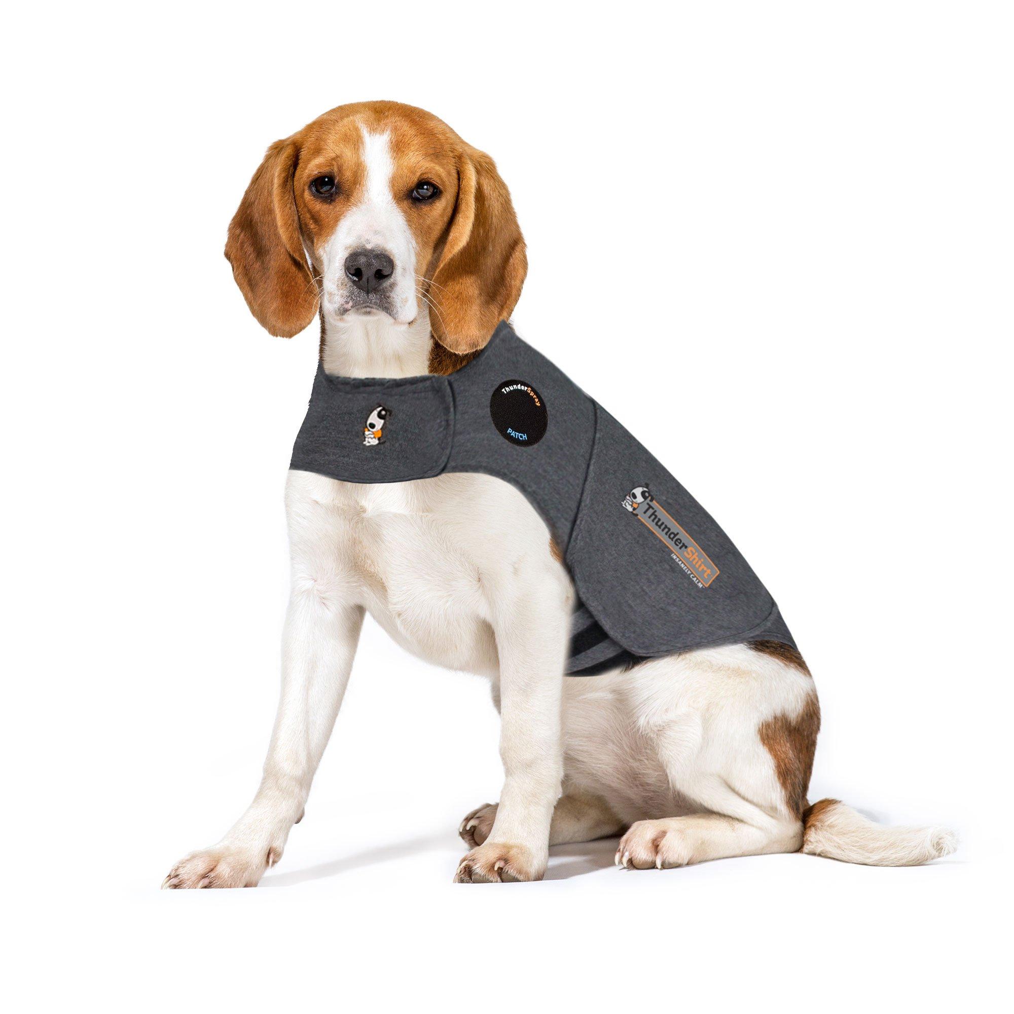 Thundershirt Dog Anxiety Treatment - Gray (Medium) by Thundershirt