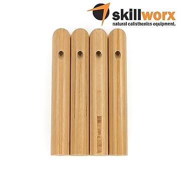 skillworx Parallettes Pilliers Large  Lucent Edition (30 cm hauteur de la  poignée  f94294c02cd