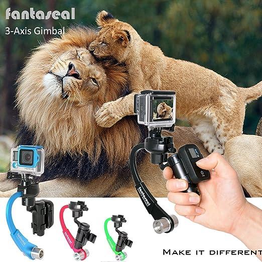 10 opinioni per Fantaseal® Stabilizzatore di inerzia della macchina fotografica di azione per il