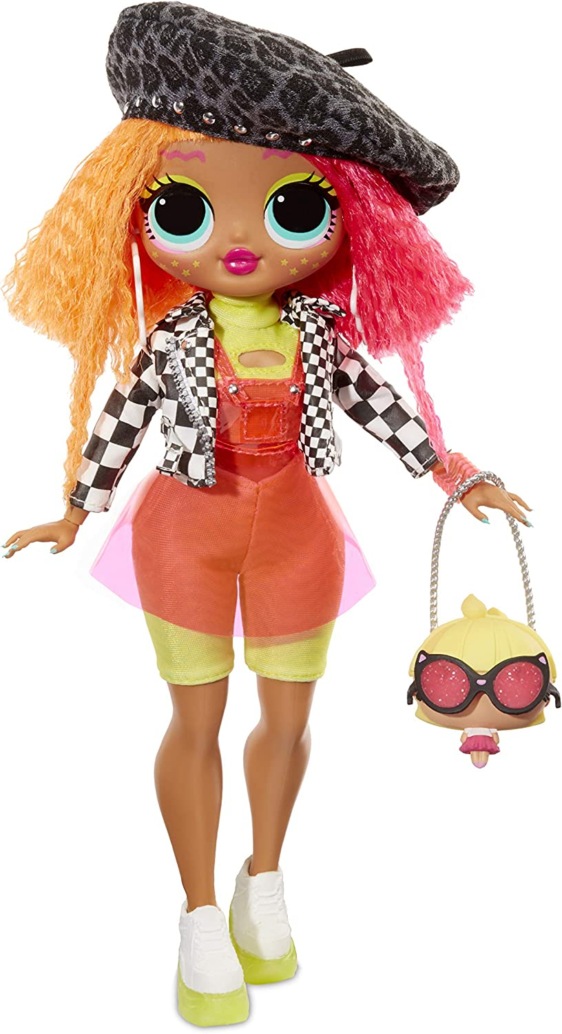 Lol Surprise Omg Neonlicious Fashion Doll With 20 Surprises