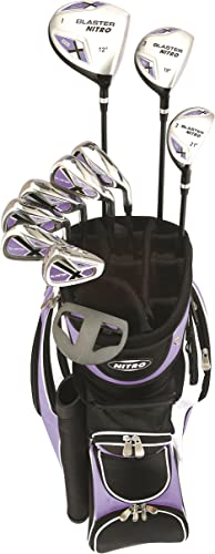 Bundle Callaway Women s Strata Ultimate Complete Golf Set with Bag, 16-Piece, Right Hand,with Two Balls