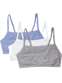80de218266b08d Fruit of the Loom Women's Cotton Pullover Sport Bra (Pack of 3), Grey