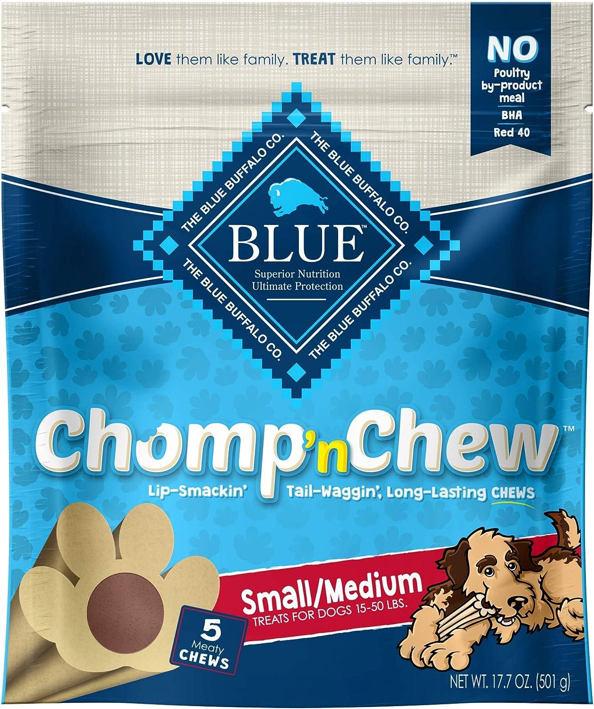 Blue Buffalo Chomp'n Chew Long-Lasting Chews Dog Treats