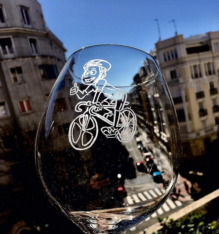 TOP DE VENTAS ¡ Copa de vino PERSONALIZADA.Grabada con dibujo de ...