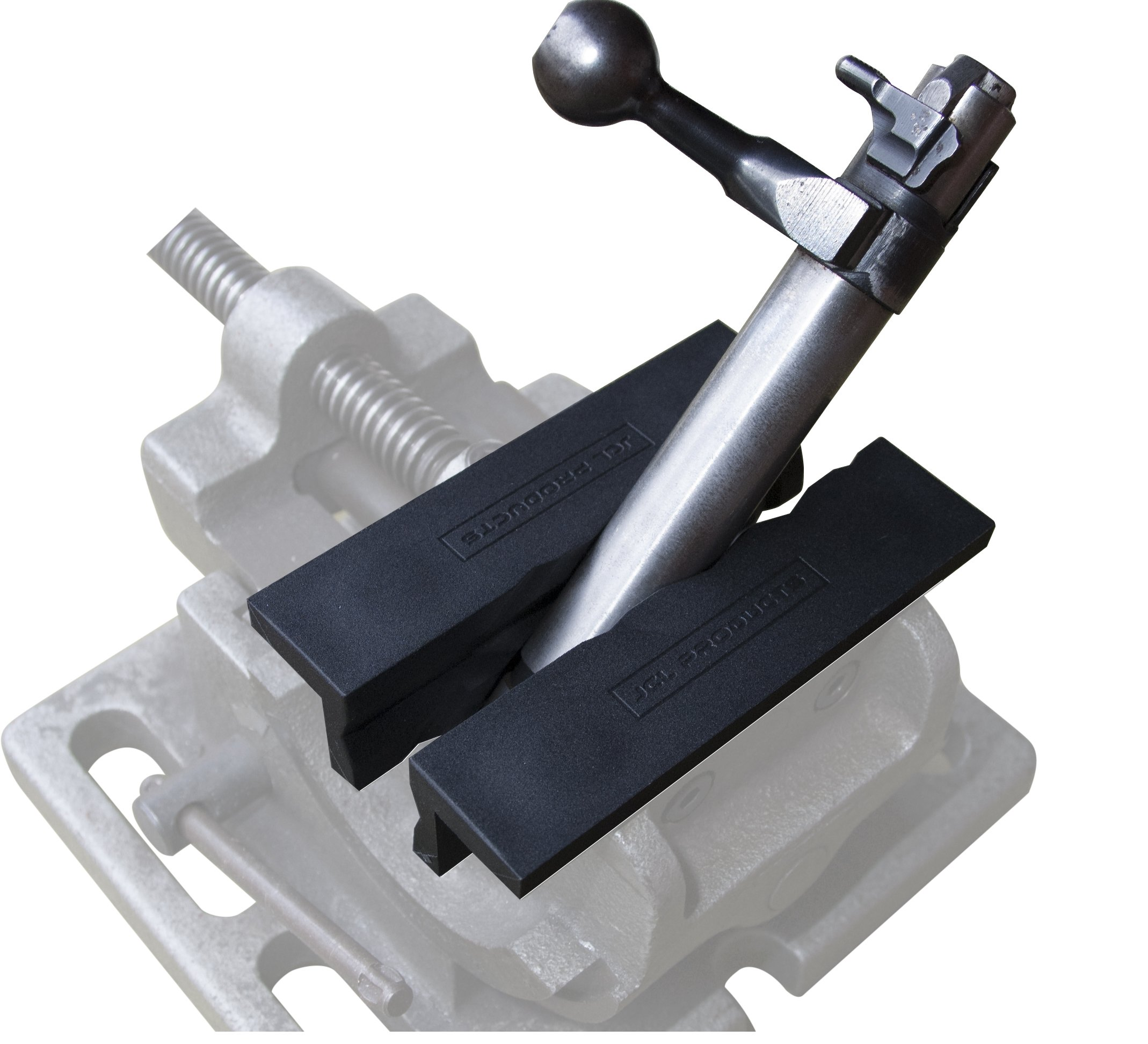 Vise Jaws - Nylon, Multipurpose 6'' - Use on any Metal Vise, Magnetic Reversible Pads (2 Sets in 1), Clamp Flat or Round Products - Available in 4'' or 6'' by JCL PRODUCTS (Image #4)