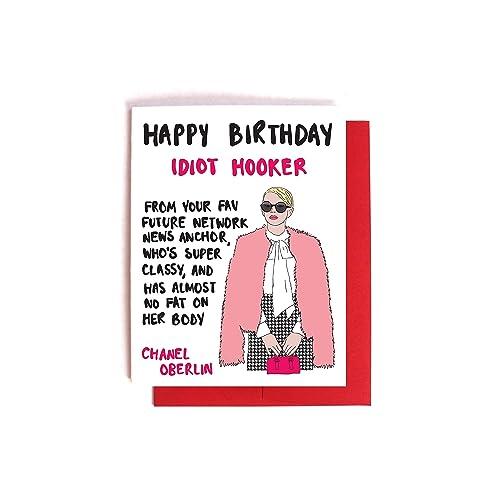 a3c64096ae6876 Amazon.com: Scream Queens Chanel Birthday Card: Handmade