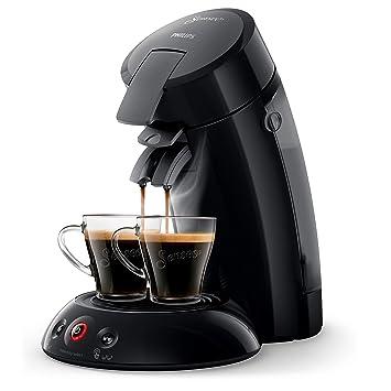 Senseo HD6554/61 - Cafetera (Independiente, Máquina de café en cápsulas, 0,7 L, Dosis de café, 1450 W, Negro): Amazon.es: Hogar
