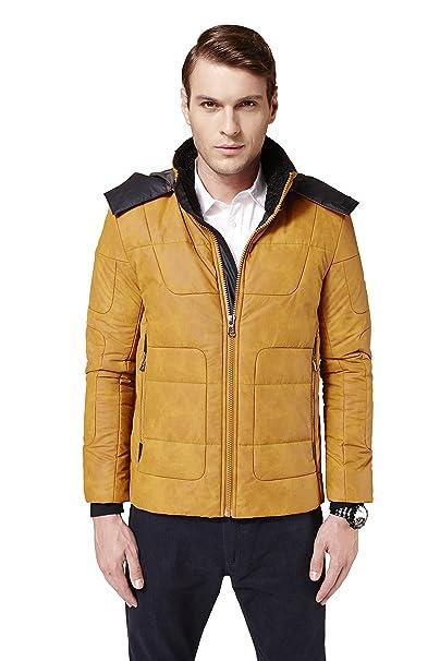 montgomery cappotto uomo giallo