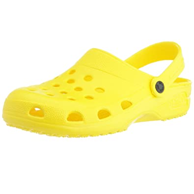 969c5ee3473a Holey Soles Women s Clogs Yellow Yellow  Amazon.co.uk  Shoes   Bags