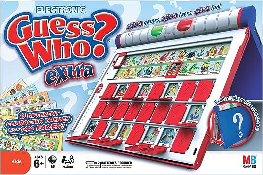 Adivina quién electrónico adicional (idioma Inglés).: Amazon.es: Juguetes y juegos
