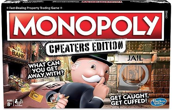 Hasbro Gaming monopolio de Juego: Cheaters Edition para niños ...