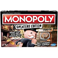 Hasbro Gaming Monopoly Game Cheaters Edition Board Game
