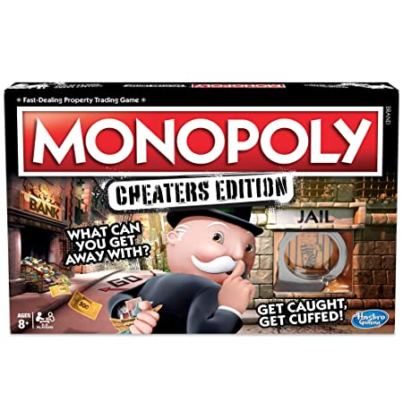 Monopoly Game Cheaters Edition Board Game-Best-Popular-Product