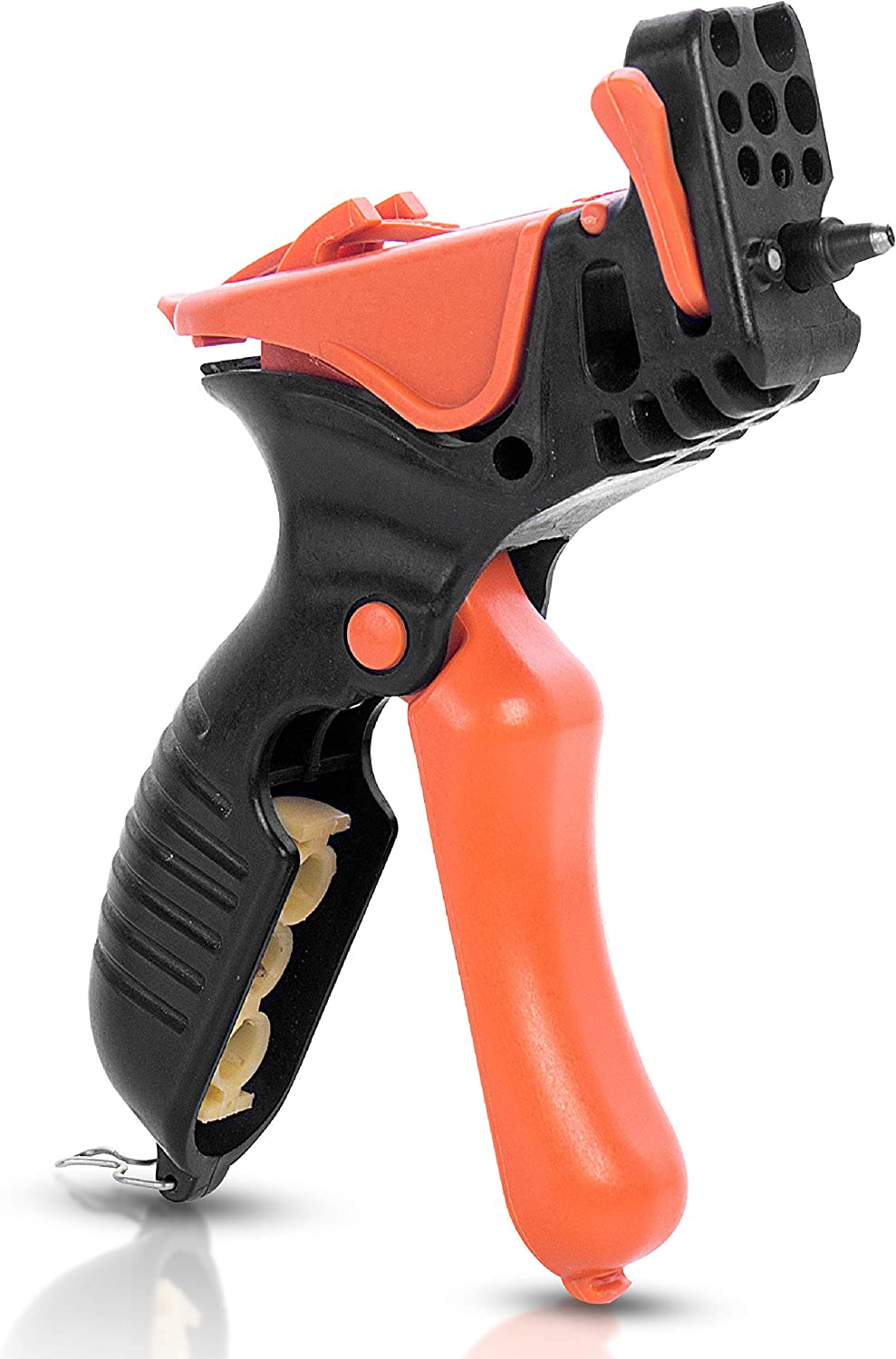 AL-MAGOR Trigger TR-3 Garden Tool: 3 in 1 Multitask Punching Cutting Inserting Sprinklers & Drippers in Irrigation Tube Pipes, 3mm Punch Tip & Sharp Blade for Cutting, Model 350030-P