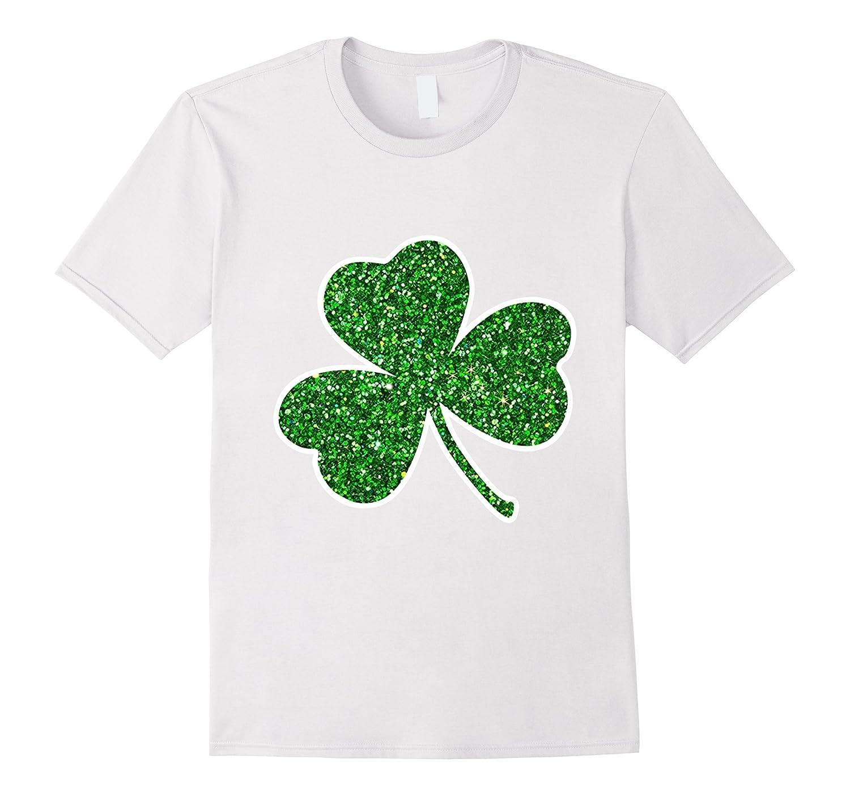 b19564c48546 Glitter Shamrock Shirt St Patricks Day Shirts Women-TD – Teedep