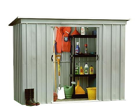 Yardmaster Caseta de jardín metálica 3,55 m²