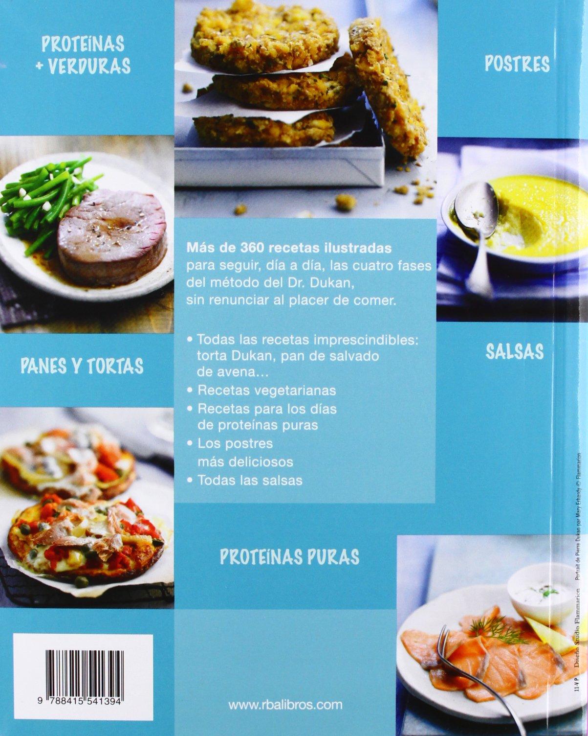 Todas las recetas de Dukan ilustradas OTROS NO FICCIÓN: Amazon.es: DUKAN, DR. PIERRE: Libros
