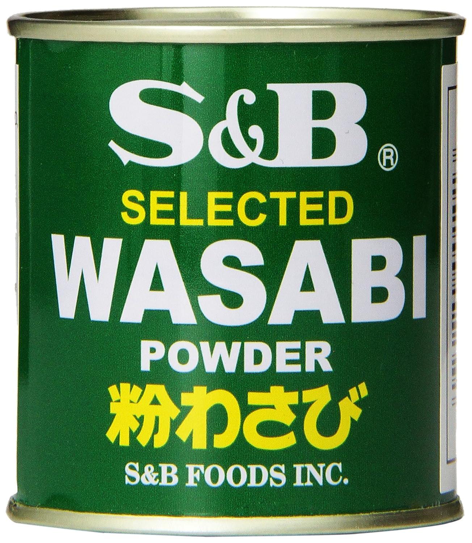 S&B Wasabi Powder, 1.06-Ounce