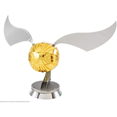 fascinations Metal Earth Harry Potter Golden Snitch 3D Metal Model Kit: Fascinations: Toys & Games