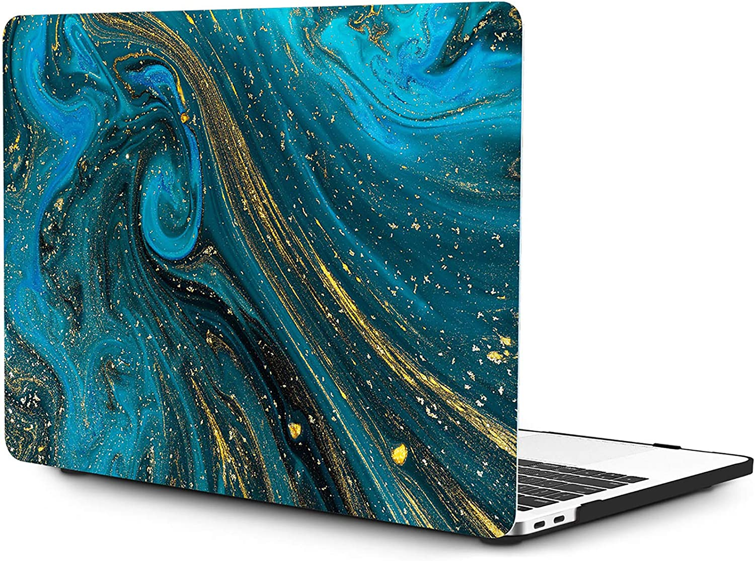 OneGET MacBook Pro 13 Inch Case with Touch Bar Laptop Case 2016 2017 2018 2019 ReleaseA2159 A1989 A1706 A1708 MacBook Pro Cover for Cute MacBook Pro Case 13 Inches Hard Shell Oil Painting (S10)