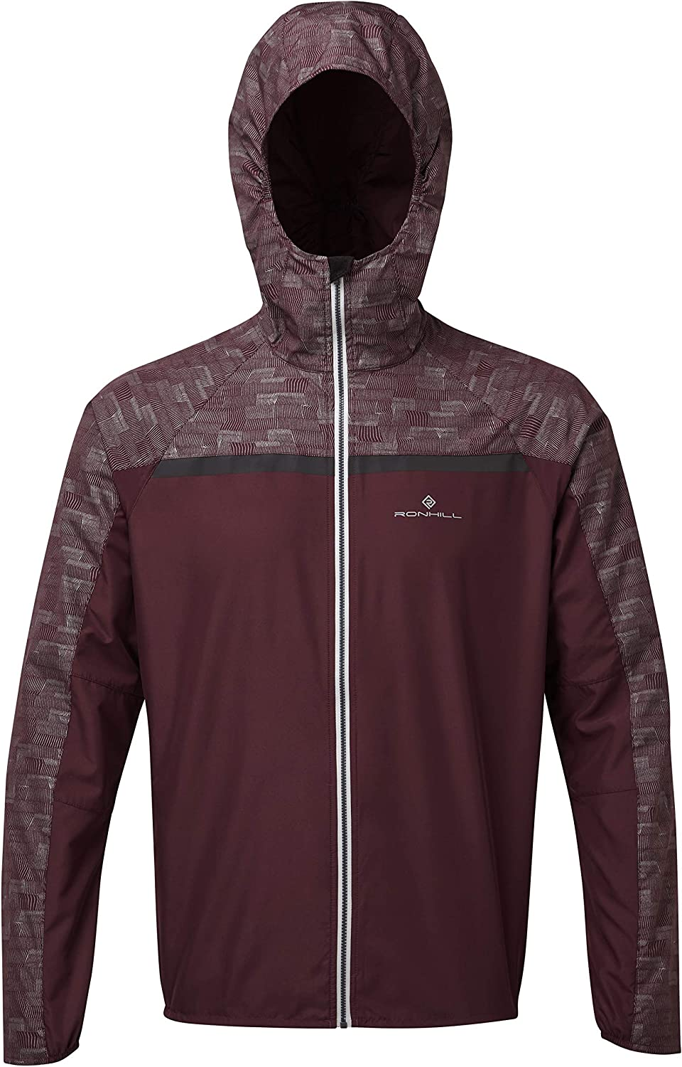 Ron Hill Mens Momentum Afterlight Vented Reflective Jacket ...