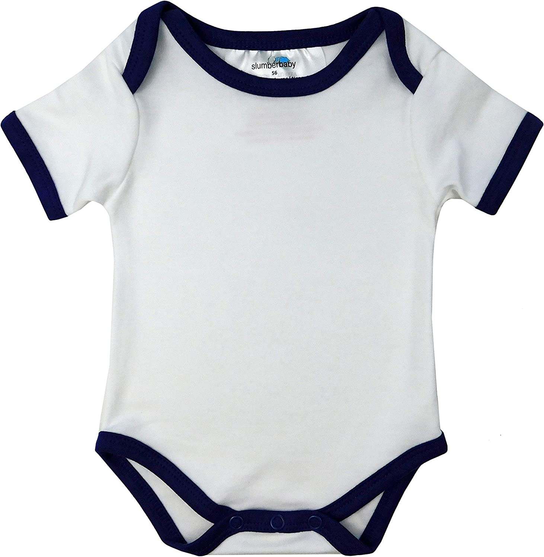 80cm Slumberbaby Baby Body Maniche corte DINOSAURO Pacco da 5 taglia 4