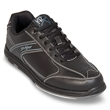 8e87885b2f7 Image Unavailable. Image not available for. Color  Strikeforce Flyer Black Wide  Width Bowling Shoes Men s ...
