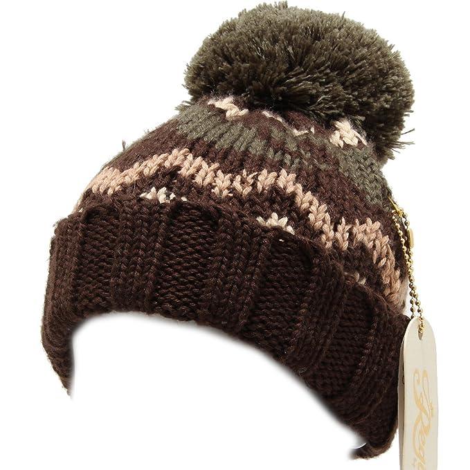 6091I cuffia bimbo marrone REGINA BY ANGELA MAFFEI cappelli hats kids   Amazon.it  Abbigliamento 0c7a8366ec66