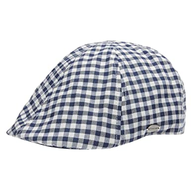ddaafc93 Firetrap Mens Honor Gatsby Cap Blue Check Mens: Amazon.co.uk: Clothing