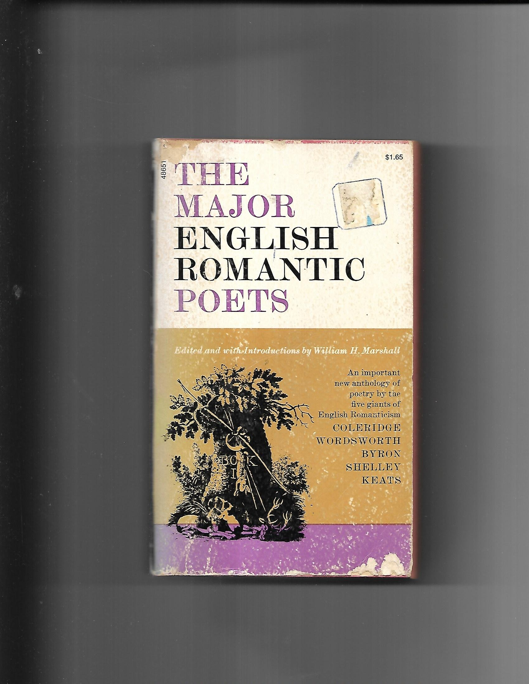 The Major English Romantic Poets: Samuel Taylor Coleridge, William  Wordsworth, Lord Byron George Gordon, Percy Bysshe Shelley, John Keats, ...