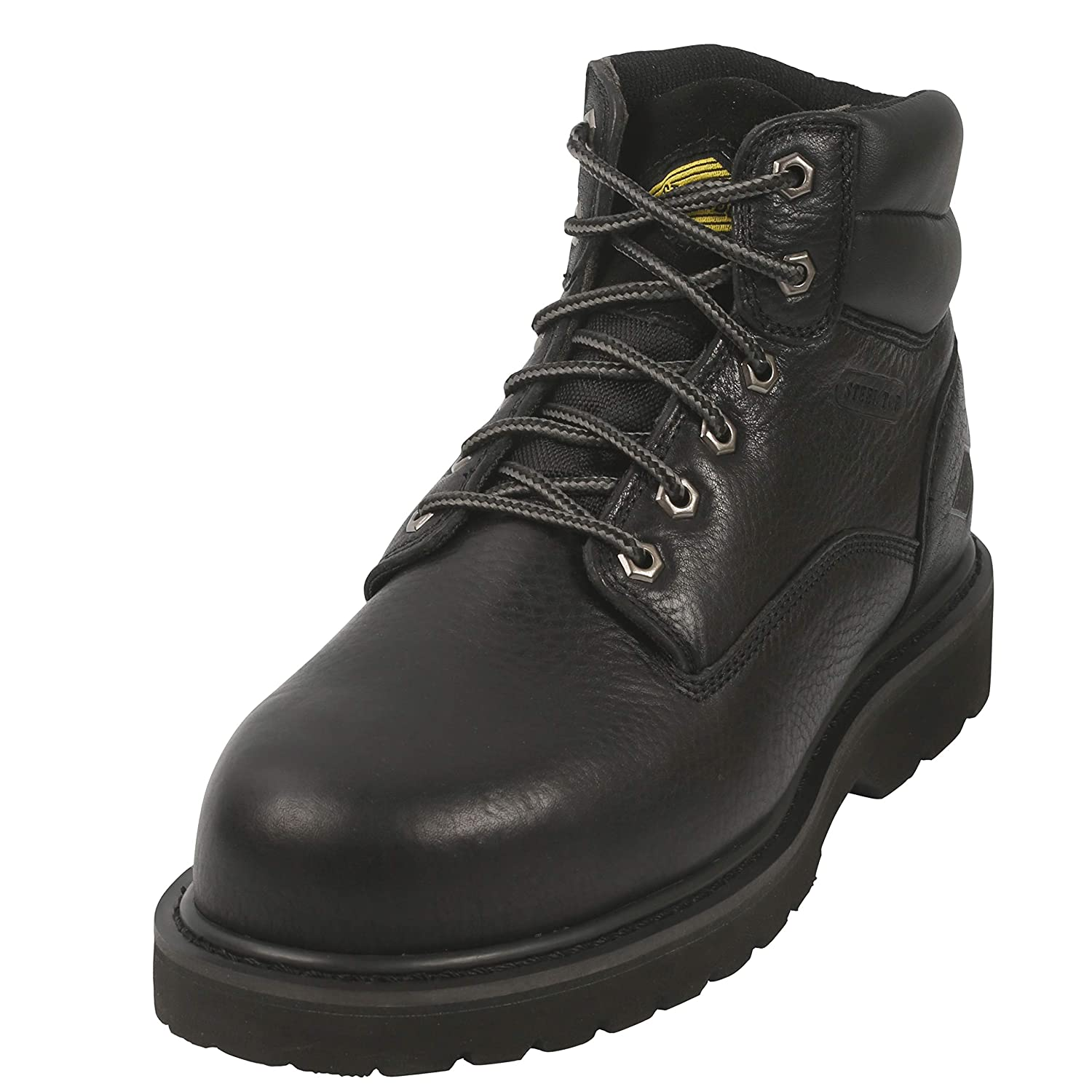 35b638877b4 Amazon.com | Steel Toe Work Boots for Men 6