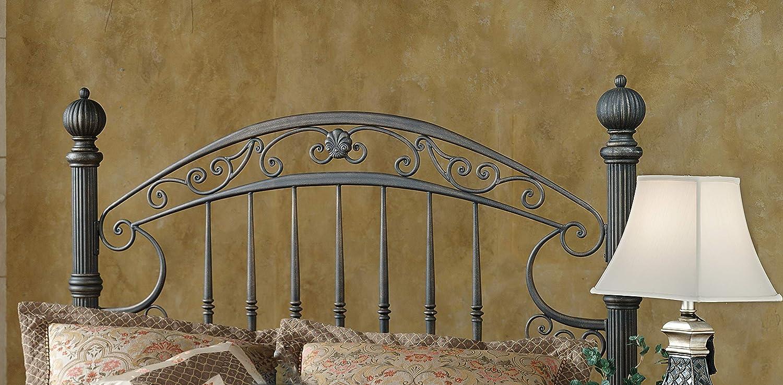 Hillsdale Furniture Chesapeake Headboard, Queen, Rustic Old Brown