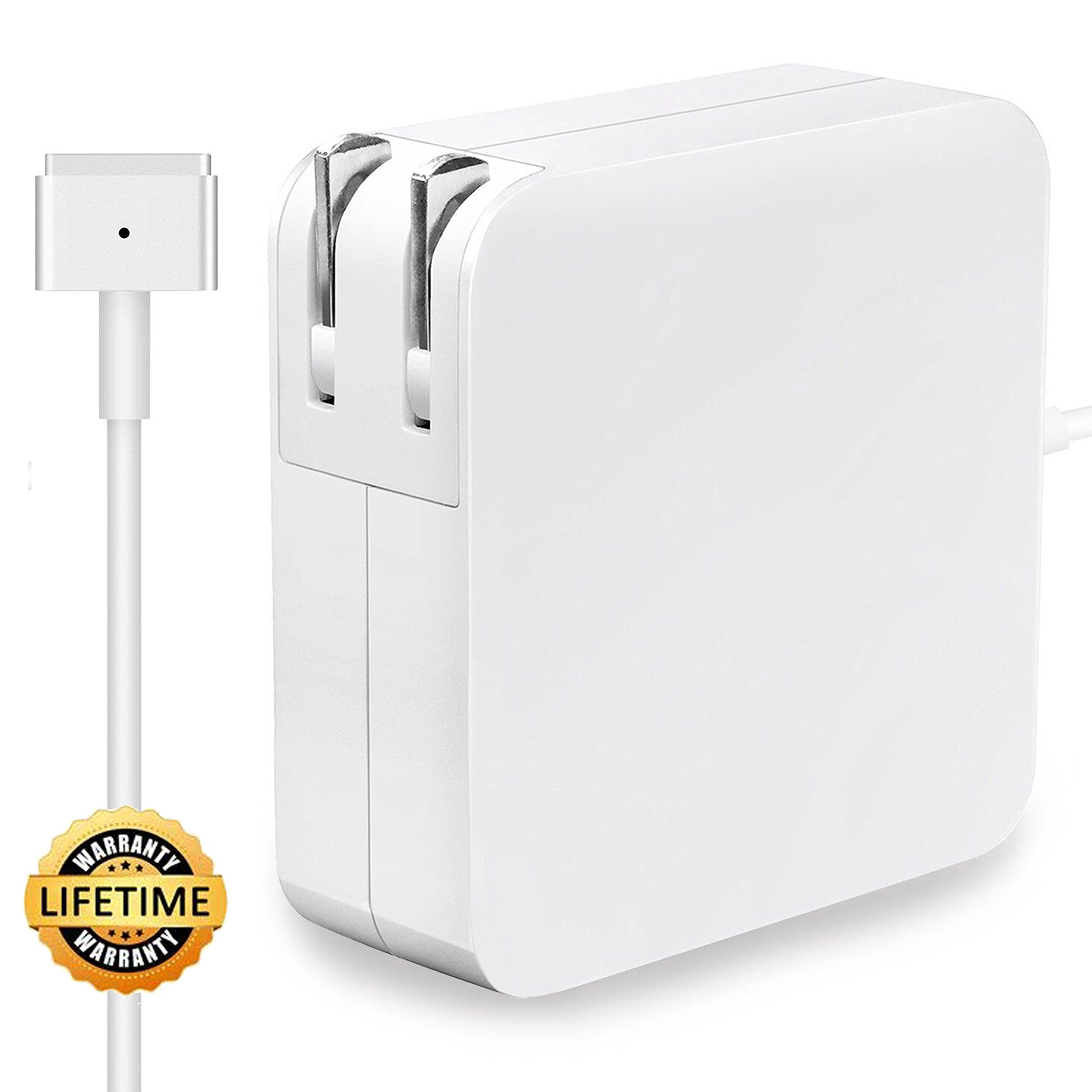 Work and Compatible with 45W, Great Replacement for Apple Mac Notebook 11'' 13'' (After & Mid 2012) (60W MagSafe 2 T-tip)