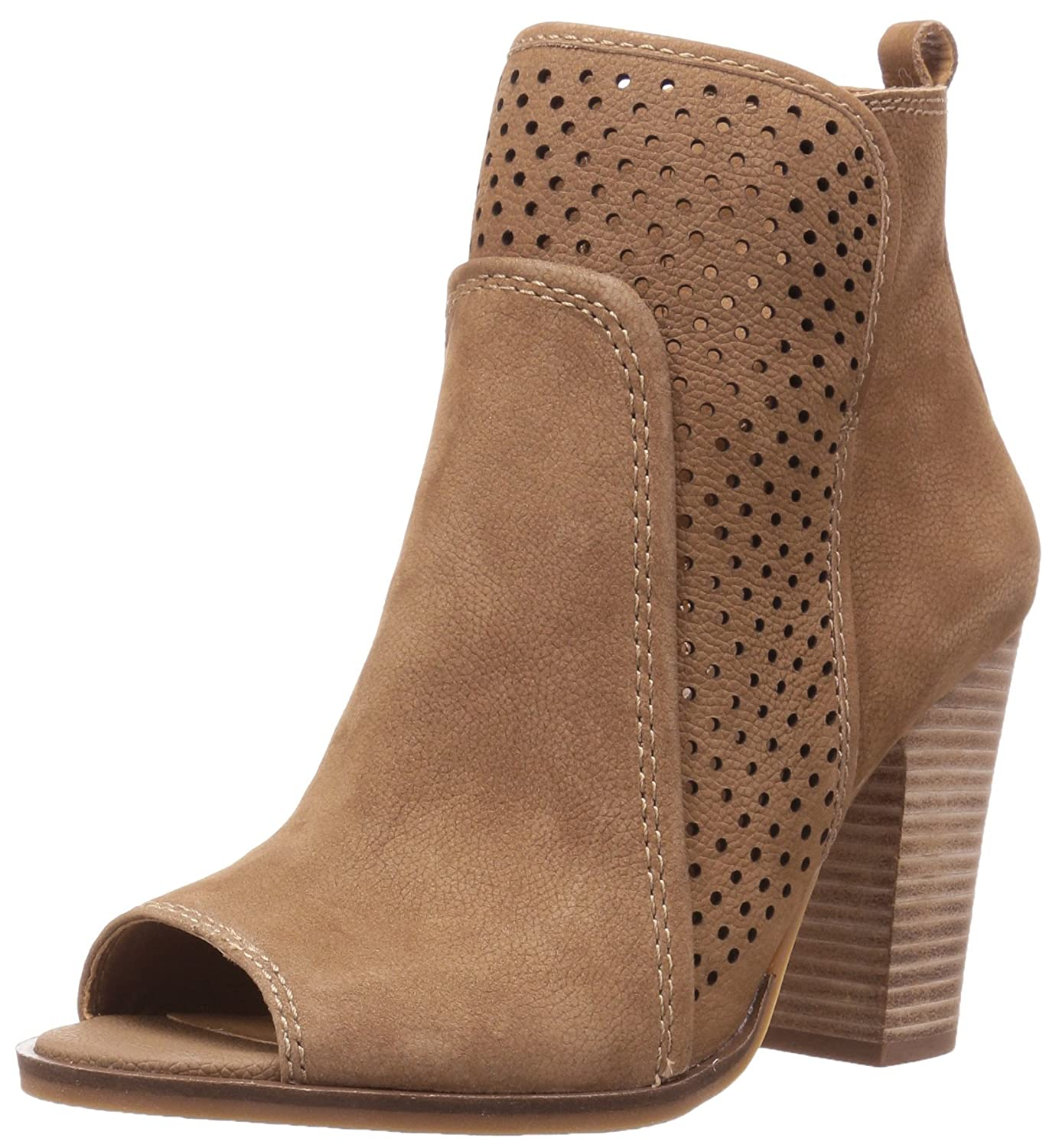 Lucky Brand Women's Lakmeh Ankle Bootie B01LXUSHU4 8 B(M) US|Sesame