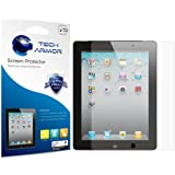 Tech Armor iPad Screen Protector, Anti-Glare/Anti-Fingerprint Apple iPad 4 / 3 / 2 / 1 [NOT IPAD AIR] Film Screen Protector [2-Pack]