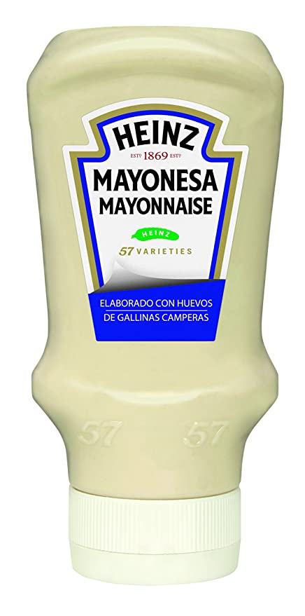 Heinz Salsa Mayonesa Plastico Top Down - 400 ml