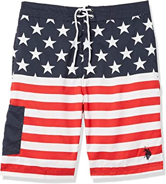 """9/"""" Mens Cargo Board Shorts Polo Assn NEW WITH TAGS U.S"""